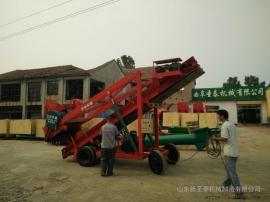 供应青储饲料厂必备大型取料机型号 圣泰牌青储取料机作用