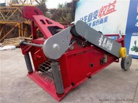 牵引薯类挖掘机视频 圣泰收获土豆机器 产地直发