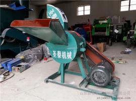 饲料秸秆揉搓机小型 圣泰稻草粉碎揉丝机报价 产地直发