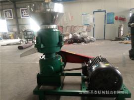 养殖户饲料颗粒机小型 sheng泰玉米饲料机bao价 整机质保一年
