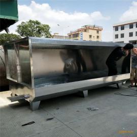 非标定做优质喷油柜 广告标牌喷漆柜 现货水帘柜 无泵水濂柜