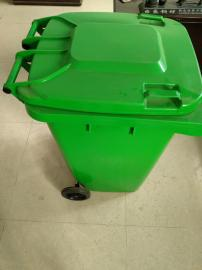 240L加厚移动塑料垃圾桶 厂家直销