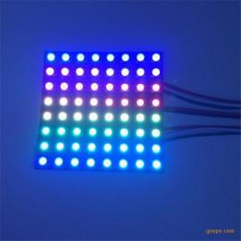 编程用广告招牌LED柔性像素屏点阵屏厂家批发