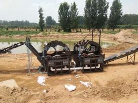 砂石场轮斗式洗砂机,厂家定制
