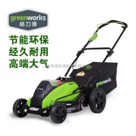 格力博greenworks40V80V充电割草机锂电农用电动草坪机除草总代