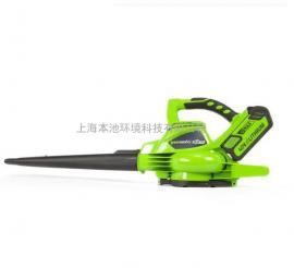 格力博greenworks40v锂电吹吸机 吸落叶除尘落叶收集器吹风机