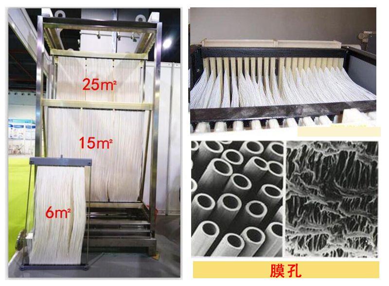 MBR中空纤维膜 生活污水常用膜处理 60E0025SA