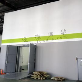 设计建造混响室 静音房 消声室 为*温公司建造混响室工程