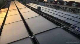 平板太阳能集热器 太阳能集热板价格 闭式承压热水系统安装