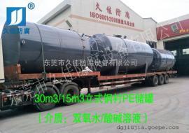 30立方双氧水储罐定制 化工过氧化氢储罐厂家