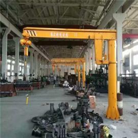 优质电动悬臂吊 2吨定柱式旋臂起重机 起升高度3米 臂长4米
