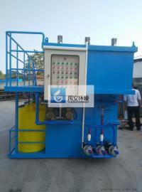 家具厂喷漆房水帘柜喷漆废水处理设施YAPS-3000L回用水处理设备