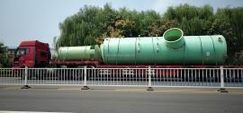 华强*生产BCT型15吨玻璃钢烟气脱硫塔