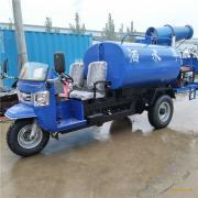 热销时风18马力2立方除尘雾炮洒水车小型三轮雾炮抑尘车厂家直销