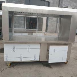 商用移动净化烧烤车油烟净化机