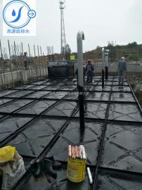 地埋式大模压块消防水箱 适用屋顶水箱