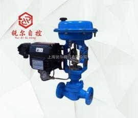 HCBW气动波纹管密封单座调节阀航空调节阀石油调节阀