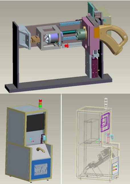 新能源充电枪插拔力试验机