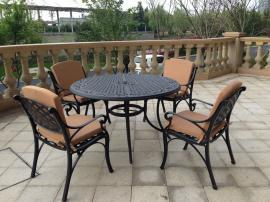 铸铝休闲椅,铸铝户外休闲椅