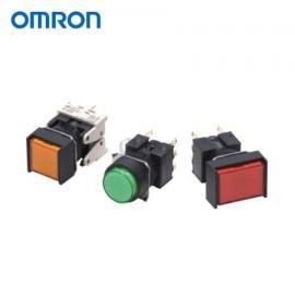 OMRON欧姆龙方形带灯按钮指示灯