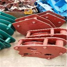 无极绳绞车尾轮张紧轮托绳轮压绳轮厂家自产自销