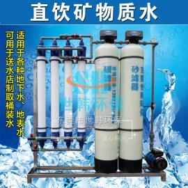 2T/H带水泵超滤净水器 井水河水净水器宾馆酒店饭店直饮水设备