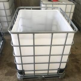 �S家供��敞口1��集�b桶1000L方形大口�剿芰贤�PE塑料化工��桶