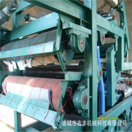 印染污泥带式压滤机装置原理