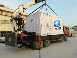 黑臭水体应急处理一体化水质净化设备YAHD-3000T水质净化设备