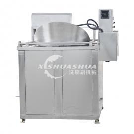 供应厂家直销洗刷刷XSS-1000电加热油炸机 多功能爆米花机牛肉干