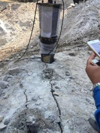 房产基坑液压劈裂机劈石机