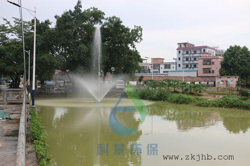科景环保喷泉曝气机