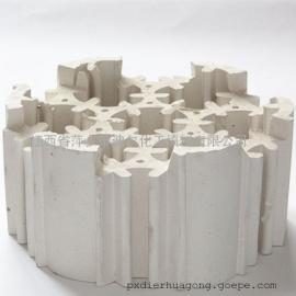 迪尔填料轻瓷填料轻瓷组合环规整填料SF-2多齿轻瓷环