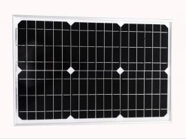 单晶25w太阳能板