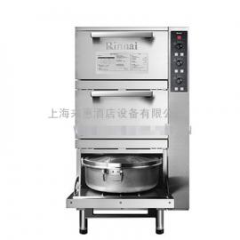 韩国RINNAI林内RRA-156-CH三层燃气蒸饭柜、RINNAI林内燃气蒸饭柜