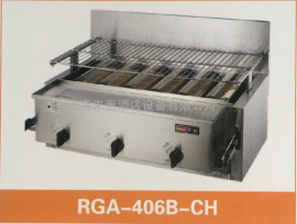 日本林内Rinnai烧烤炉RGP-43A-CH面火炉RGP-46A-CH燃气顶火烤炉