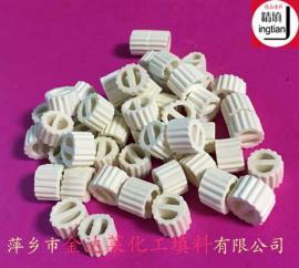 陶瓷一字环填料 陶瓷勒辛环 陶瓷隔板环 高铝陶瓷齿边一筋环