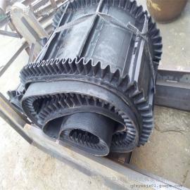 六九重工红薯装车移动式升降圆管皮带输送机 8米长V型托辊皮带机Lj8dy800