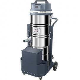 威德er充电式工业吸尘器WD-100P手推式吸xiao石子粉尘铁屑