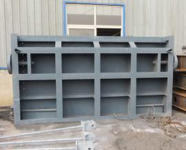 shuili工程焊接钢制闸门、手动平ban闸门启闭机