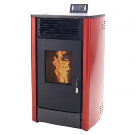 生物质取暖炉 颗粒真火壁炉 采暖真火炉-*采暖供暖厂家