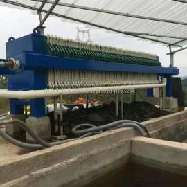 喷漆房废水处理设备就选中科贝特板框压滤机 清水排放客户好评