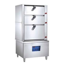 Chinducs/华磁电力三门海鲜蒸柜ZGD-3 304不锈钢电蒸箱