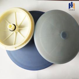 华恒污水处理用曝气盘 膜片式微孔曝气器215-260-300mm