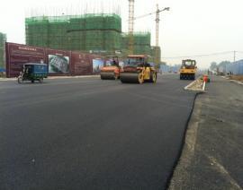 路面沥青施工
