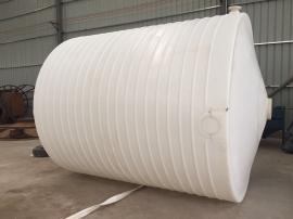 8吨容量抗腐蚀ju乙烯尖底立式储罐