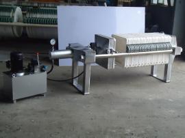 制药厂药液过滤设备,不锈钢压滤机450型