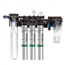 爱惠浦净水器MC2三联净水器 HIGHFLOW CRS大流量商用直饮过滤器