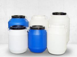 吹塑广口塑料圆桶