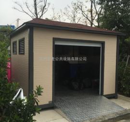 吴中垃圾房岗亭、吴江分类垃圾房定做、小区垃圾房材质